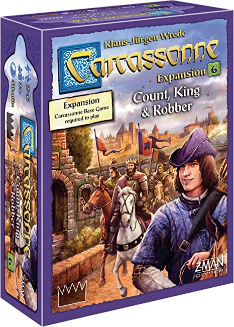 Z-Man Games Carcassonne Expansion 6: Count, King & Robber: Amazon.es: Juguetes y juegos