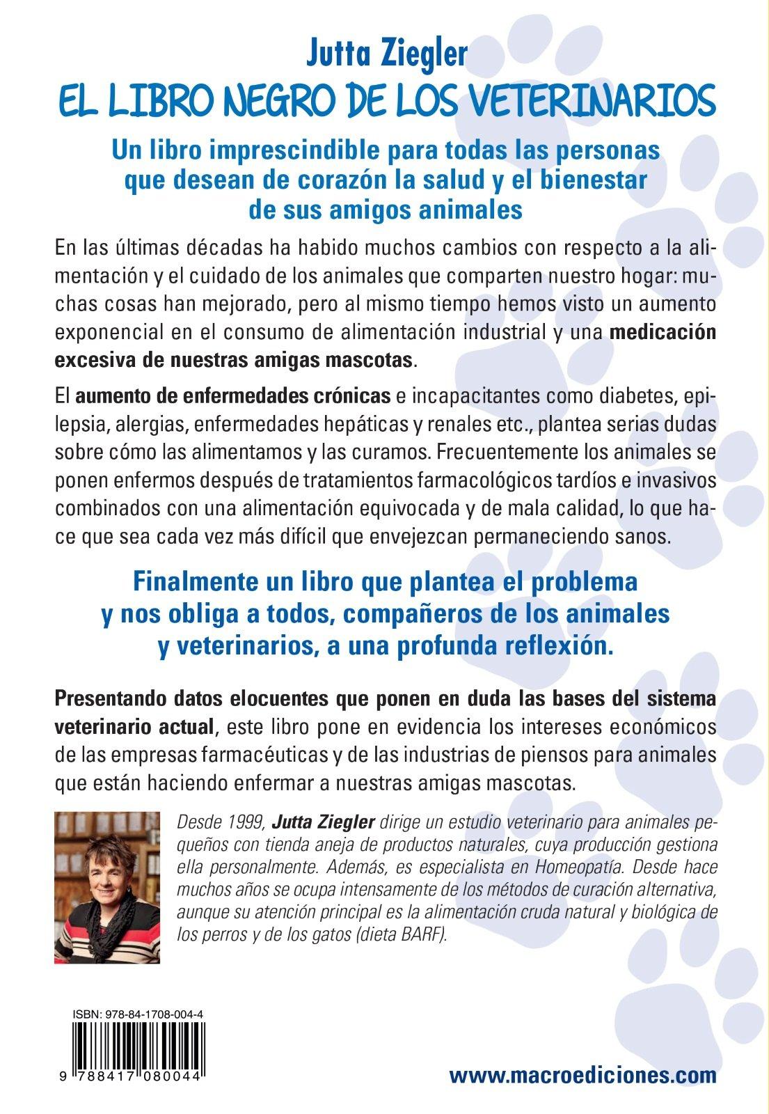 LIBRO NEGRO DEL VETERINARIO, EL: Jutta Ziegler: 9788417080044: Amazon.com: Books