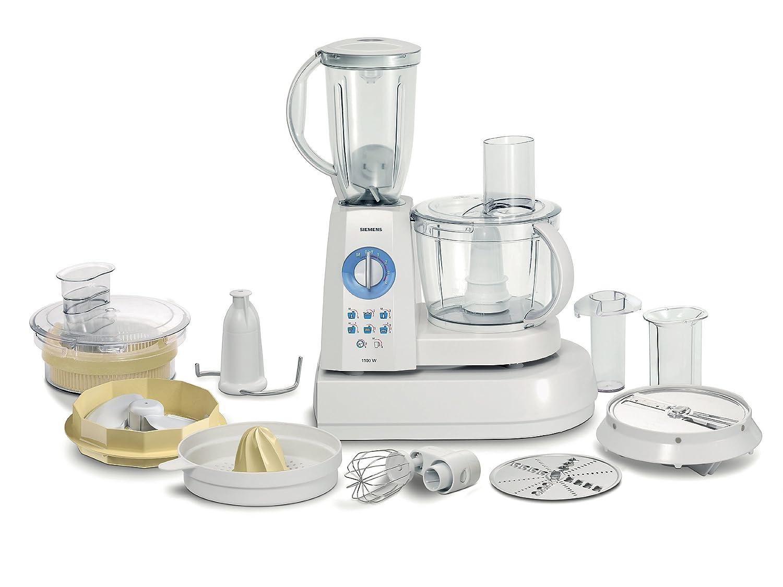 Siemens MK55300 - Procesador de alimentos, Blanco, 7020 g, 240 mm ...