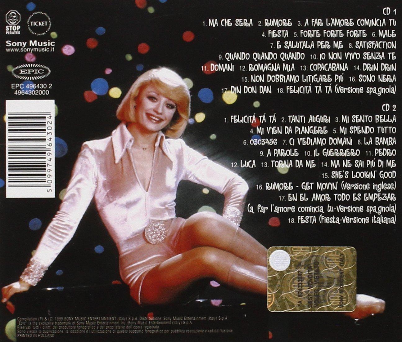 Raffaella carra tutto carra italian edition 2 cd set amazon com music
