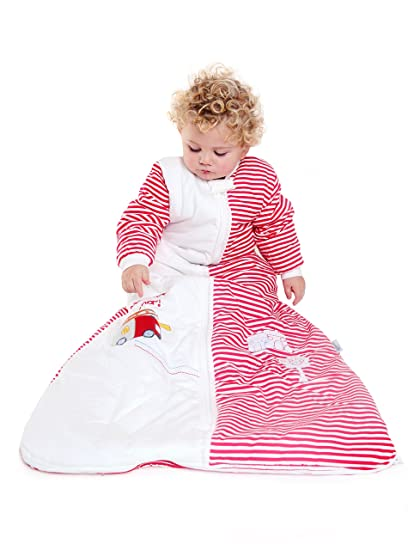 Amazon.com: SlumberSafe Winter Baby Sleeping Bag Long Sleeves 3.5 Tog Fire Egine 0-6months/SMALL: Baby
