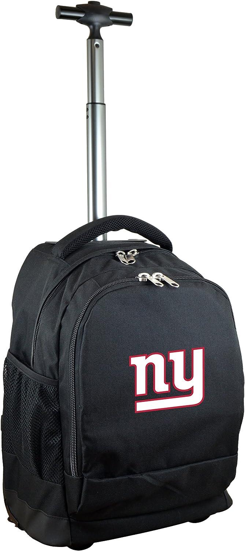 NFL Wheeled Backpack 19-inches Black