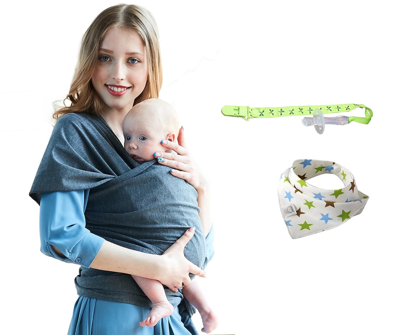 Écharpe de Portage Bébé Sling Été Tissu de coton complet bébé de haute  qualité pour ... 5996f9e4f10
