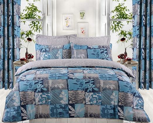 Divine Textiles - Juego de funda nórdica y funda de almohada (100 ...