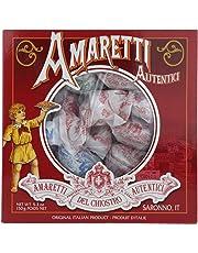 Amaretti Del Chiostro, Amaretti Di Saronno Crunchy Italian Cookies, 5.3 Ounce Window Box