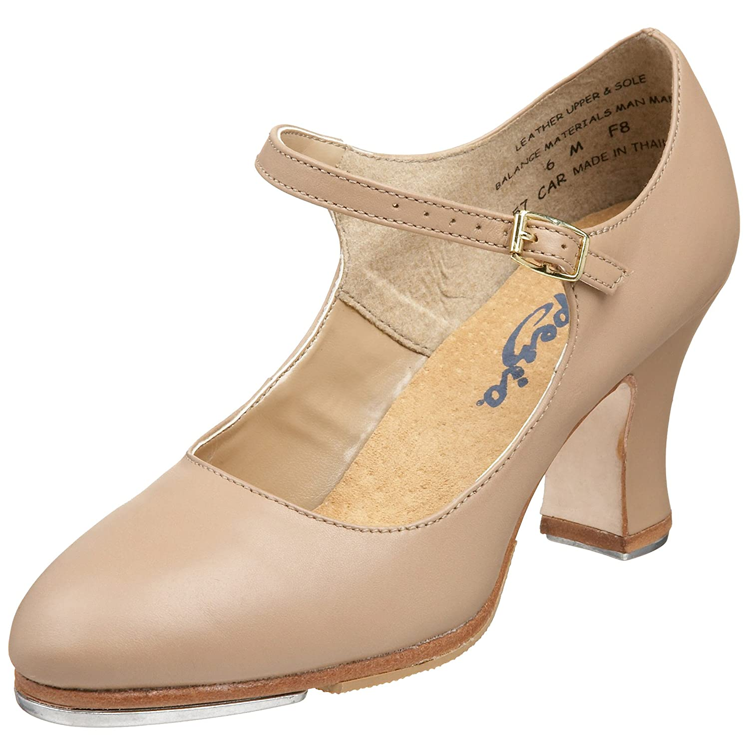 Retro Vintage Style Wide Shoes Capezio Womens 657 Manhattan Xtreme Tap Shoe $82.95 AT vintagedancer.com