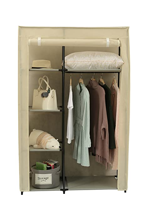 Amazoncom Home Like Portable Clothes Closet Storage Wardrobe