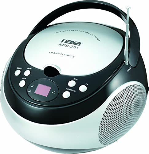 NAXA Electronics NPB-251BK Portable CD Player