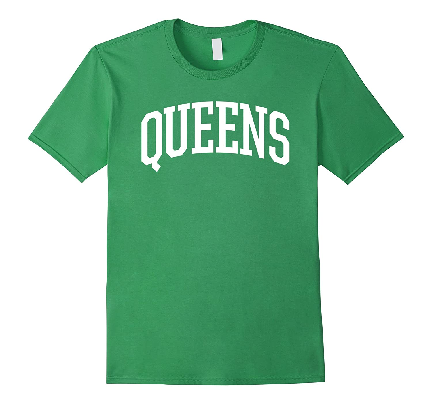 Queens T-Shirt  Queens New York NY Sports College-Style T-RT
