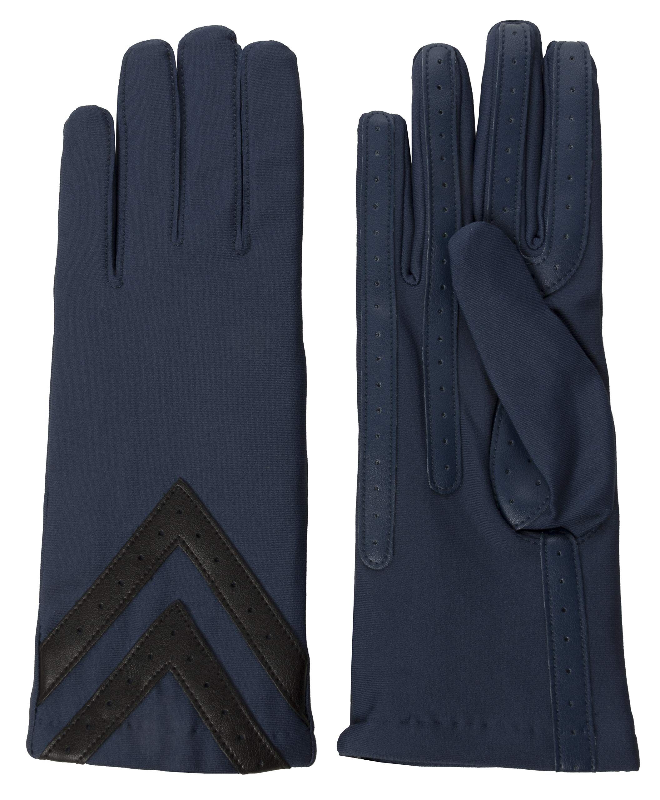 Isotoner Classic Stretch Tech Touch Gloves, Admiral Blue, Large/Extra Large by ISOTONER