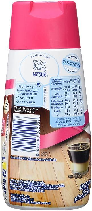 Nestlé La Lechera - Leche Condensada Desnatada - 4 Paquetes de 450 g: Amazon.es: Alimentación y bebidas