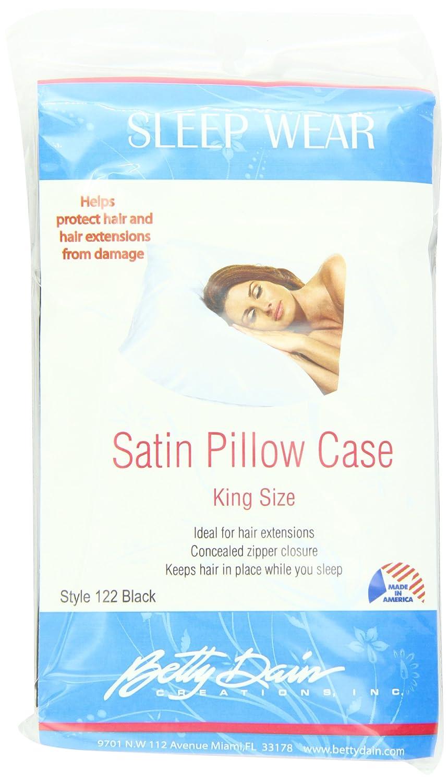 Amazon.com: Betty Dain Satin Pillowcase, King, Beige (Set of 2 ...