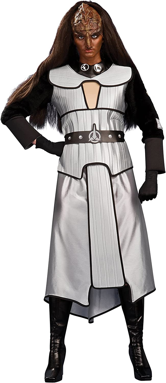 Star Trek Klingon Cosplay Costume Custom Made Dress