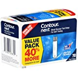 Contour Next 7278 Blood Glucose Test Strips (Pack of 70)