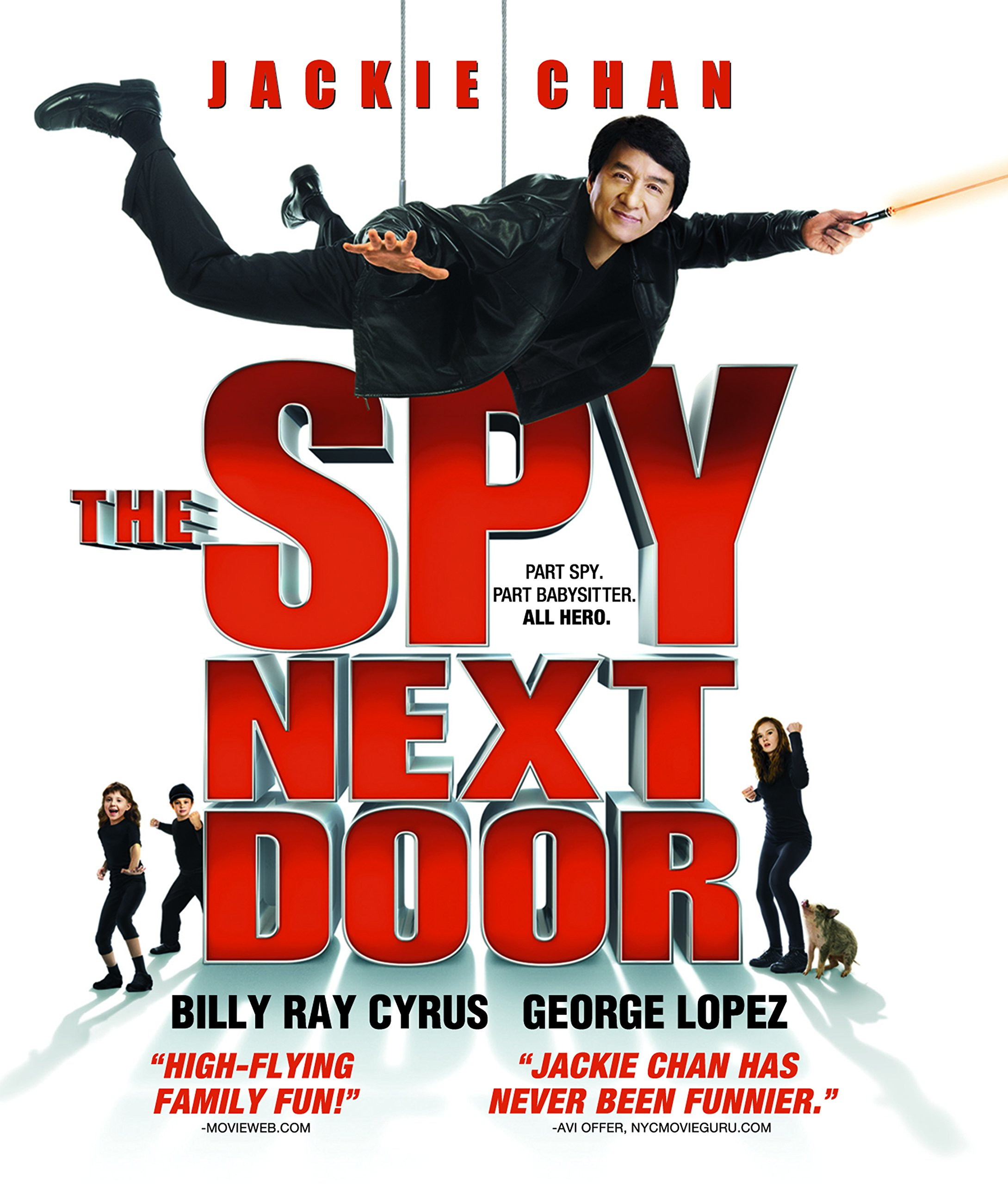 Blu-ray : The Spy Next Door (With DVD, , Dolby, AC-3, Digital Theater System)