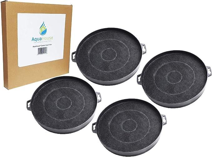 4x AH-CHF02H Filtro de carbón activado compatible con campana extractora CATA, Hygena, Moffat MCH665 MCH665X: Amazon.es: Hogar