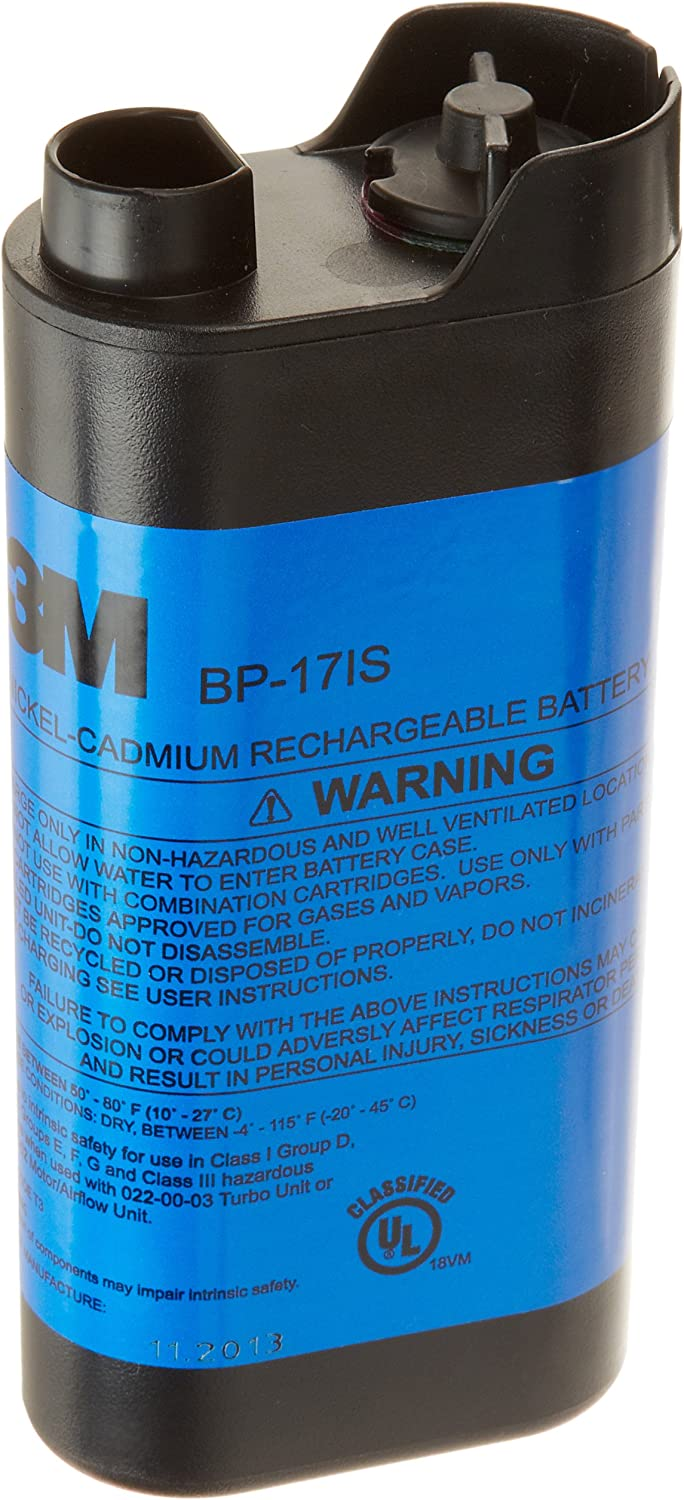 3M Battery Pack BP-17IS, NiCd, Intrinsically Safe