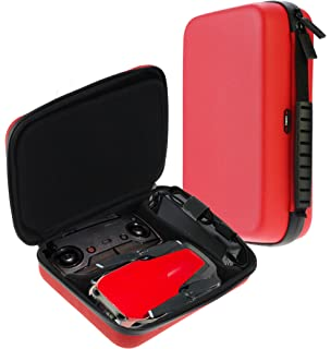 Navitech Red Waterproof Shockproof Drone Case For The DJI Mavic Air