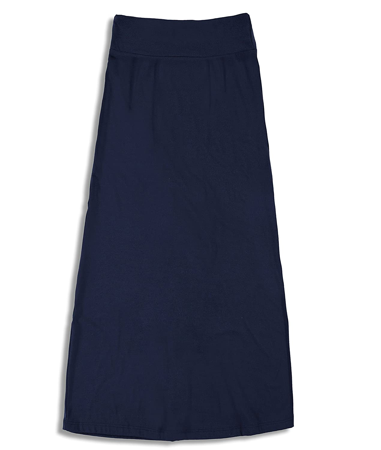 Free to Live 3 Pack Girls 7-16 Years Old Maxi Skirts Great for Uniform