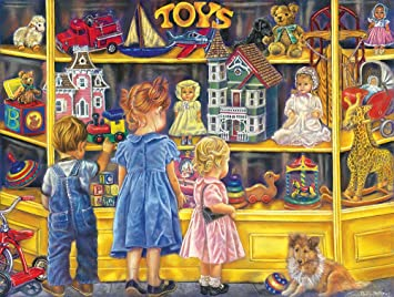 amazon shopping for toys a 300 piece jigsaw puzzle by sunsout