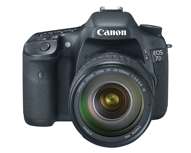 Canon Canon EOS 7D - Cámara Réflex Digital 18 MP (Objetivo EF 28 ...