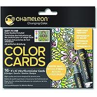Chameleon Color Cards-Mirror Images Boyama Kartları, Yansıma Desenler