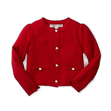 71b2a0cd2 Amazon.com  Hope   Henry Girls Milano Stitch Cardigan Sweater  Clothing