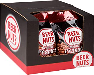 product image for BEER NUTS Original Peanuts - Grab Bag - 30 oz Resealable Bag (8 Pack Case), Sweet and Salty, Gluten-Free, Kosher, Low Sodium Peanut Snacks