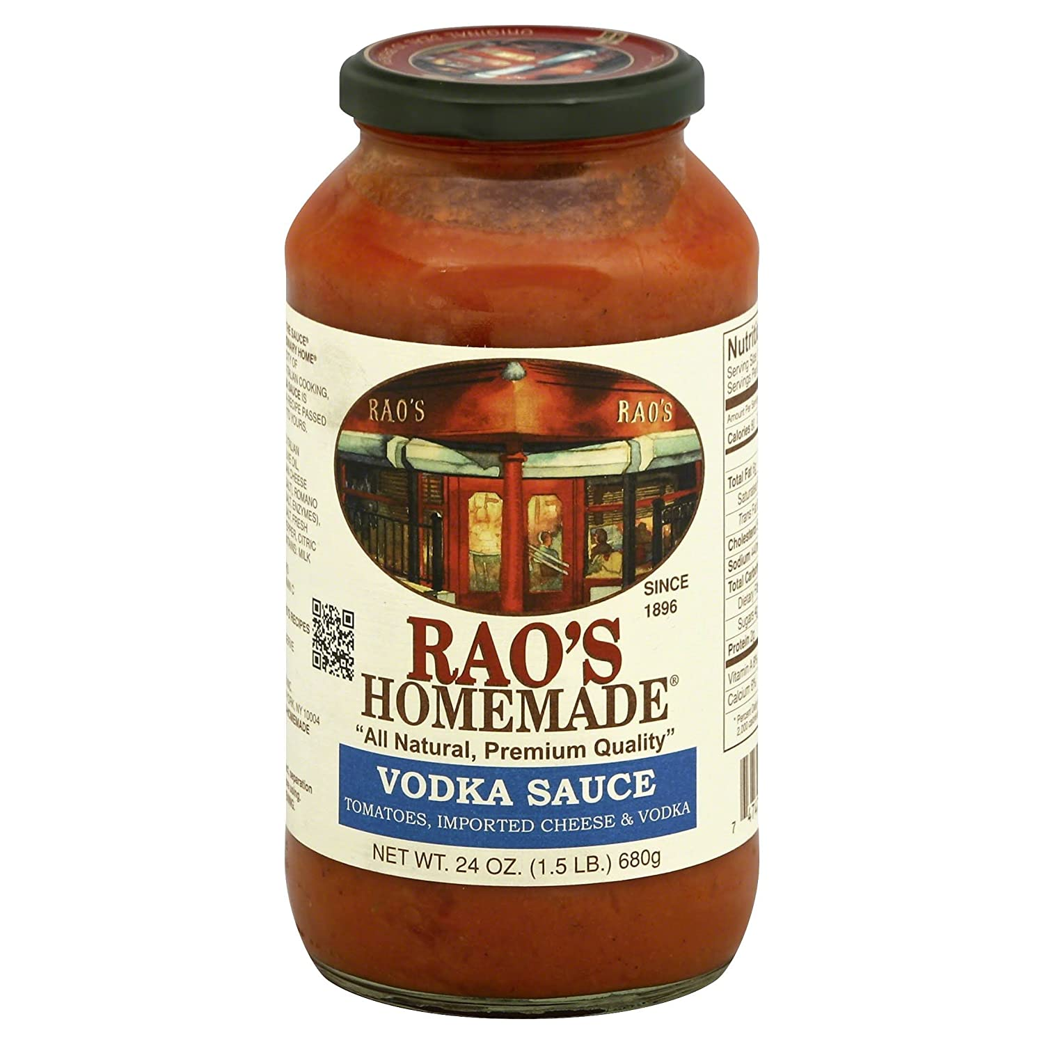 Rao's Homemade Vodka Sauce, 24 Ounce (Pack of 6)