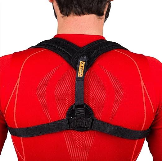 547 opinioni per VOELUX supporto tutore a fascia per la correzione della postura.