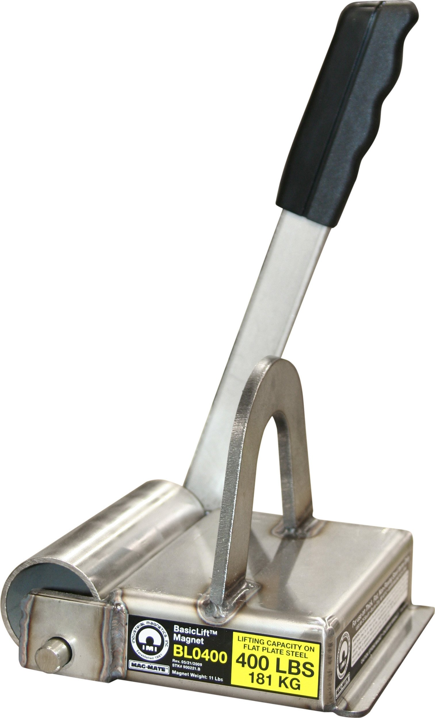 MAG-MATE BL0400 BasicLift Lift Magnet with 400 lb Capacity