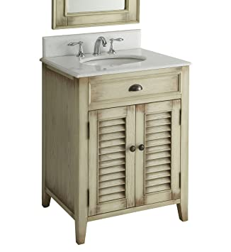 26 Cottage Look Abbeville Bathroom Sink Vanity Model Cf28323