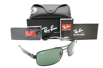 Amazon.com  Ray-ban Sunglasses RB 8316 002 N5 62mm Black Carbon ... 8839b986e0db