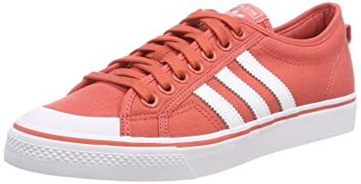 half off 488ee 7be42 adidas Nizza, Chaussures de Basketball Homme, Rouge (Trascaftwwhtftwwht),  39 1