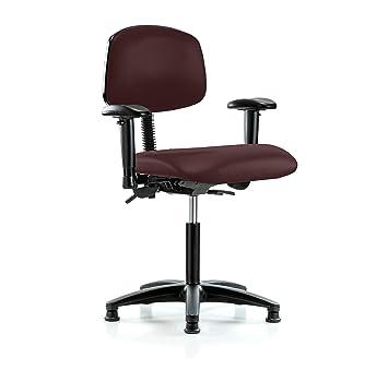 """Perca multi-task silla con ruedas ajustable reposabrazos y respaldo 20 """" – 27&quot"""
