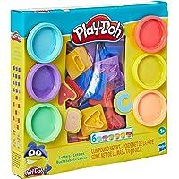 Conjunto Massinha Play Doh Letras E8532 Hasbro Multicor