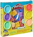 Conjunto Massinha Play Doh Letras - E8532 - Hasbro Play-doh Conjunto Massinha Play Doh Letras Variadas