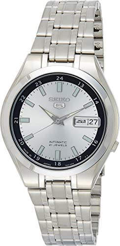 Amazon Com Seiko 5 Automatic Men S Watch Snkg19j1 Watches