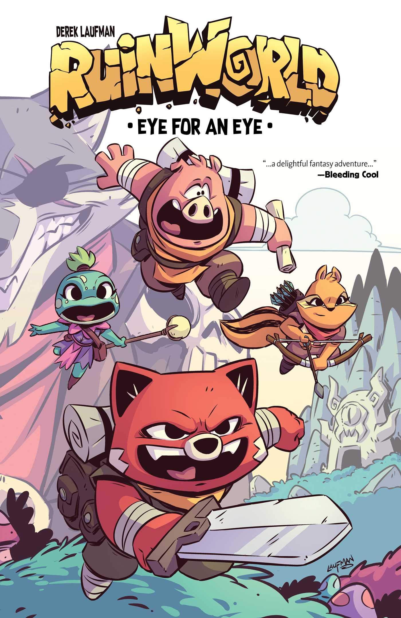 RuinWorld: Eye for an Eye SC: Amazon.co.uk: Derek Laufman: Books