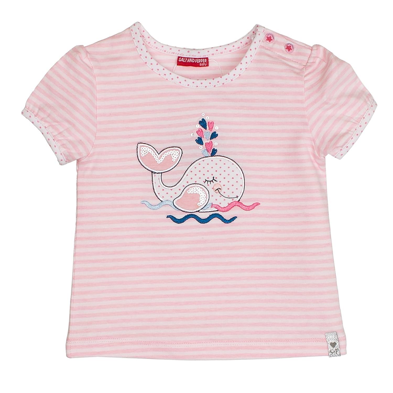 Salt & Pepper Baby Girls' B T-Shirt Summer Stripe SALT AND PEPPER 83212234