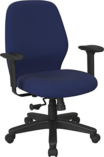 Office Star Ergonomic Mid Back Office Desk Chair