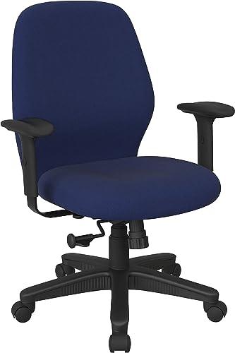 Office Star Ergonomic Mid Back Office Desk Chair