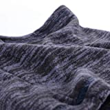 JIUSY 1 Pack - Thick Fleece Balaclava Neck Warmer