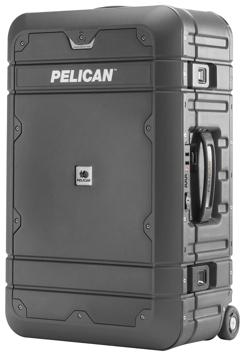 Pelican Elite Luggage | Carry On (Ba22 22 Inch)   Grey/Black by Amazon