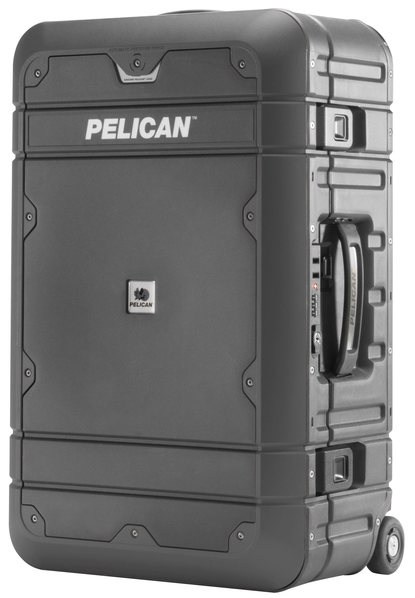 Pelican Elite Luggage   Carry-On with Enhanced Travel System (EL22-22 inch) - Grey/Black by Pelican