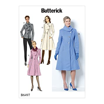 Butterick Patterns 6497 F5 MissesMiss Petite Jacke und