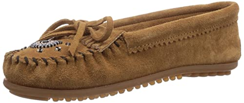 Minnetonka Me To We Maasai Moc - mocasines para mujer, Beige (Taupe/TPE), 42: Amazon.es: Zapatos y complementos