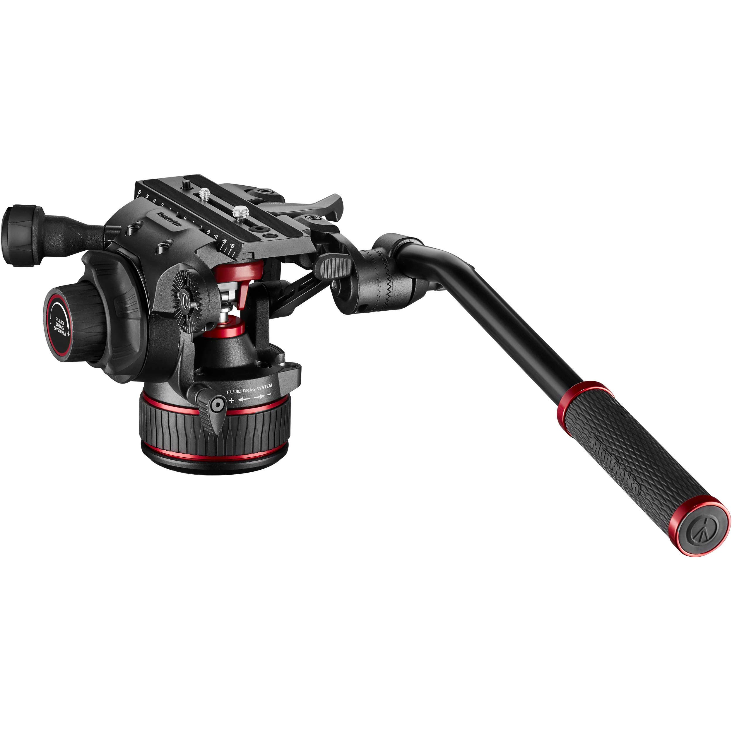Manfrotto 608 Nitrotech Fluid Video Head by Manfrotto
