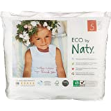 Naty by Nature Babycare - Culottes d'Apprentissage Écologiques Jetables - Taille 5 Junior - Poids: 12-18 Kg - 20 Couches