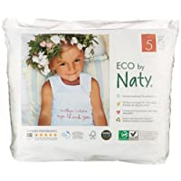 Naty by Nature Babycare Size 5 (12-18 kg/26-40 lbs) Eco Pull-On Training Pants, 20 Pants